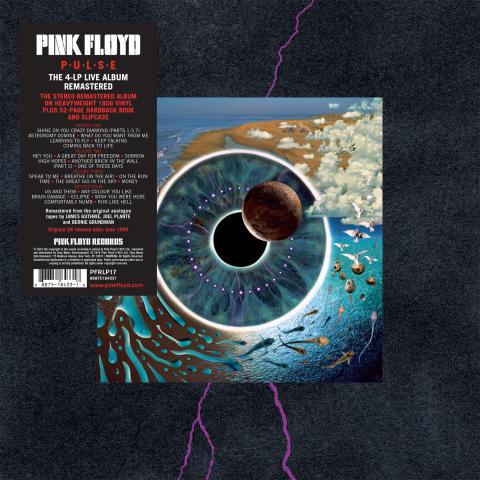 Pink Floyds PULSE på vinyl