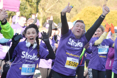 Liverpool runners raise over £7,500 for the Stroke Association