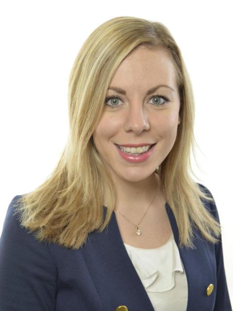 Jessica Rosencrantz (M) riksdagsman, vice ordförande i Trafikutskottet och trafikpolitisk talesman för moderaterna inviger Svenska Maskinmässan.