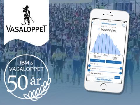 IBM och Vasaloppet 50 år – snart är det dags!