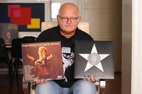 Finn Bjelke med ny Bowie-serie