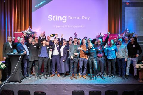 Rekordstort intresse för Sting Demo Day