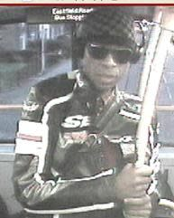 Barking and Dagenham bus suspect