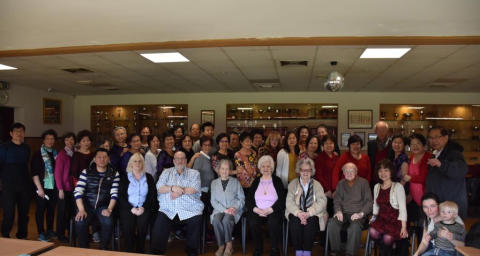 Chinese community host an afternoon of culture for their Scottish neighbours
