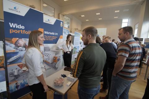 Virksomheder på jagt efter maritime studerende