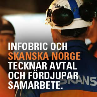 Infobric och Skanska Norge tecknar avtal och fördjupar samarbete