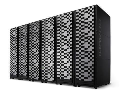 VSP G1000 Six Rack With Bezels