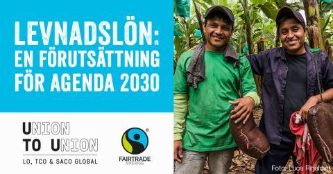 Fairtrade i Almedalen: Levnadsinkomst för odlare i länder med utbredd fattigdom – fantasi eller verklighet?