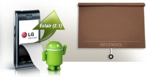 Nyt julkaistaan Android-päivitys LG Optimus GT540 -puhelimeen