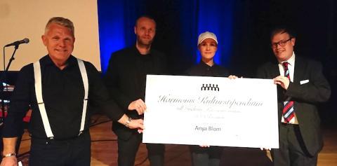 Anya Blom fick Harmonis Kulturstipendium 2018