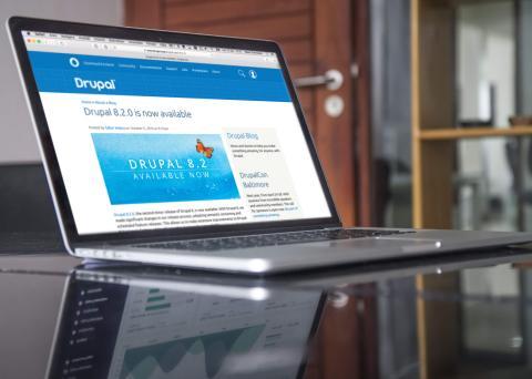 Här är nyheterna i den senaste uppdateringen av Drupal 8