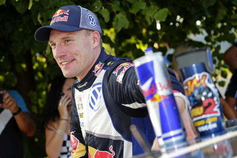 Latvala porträtt Rally Germany