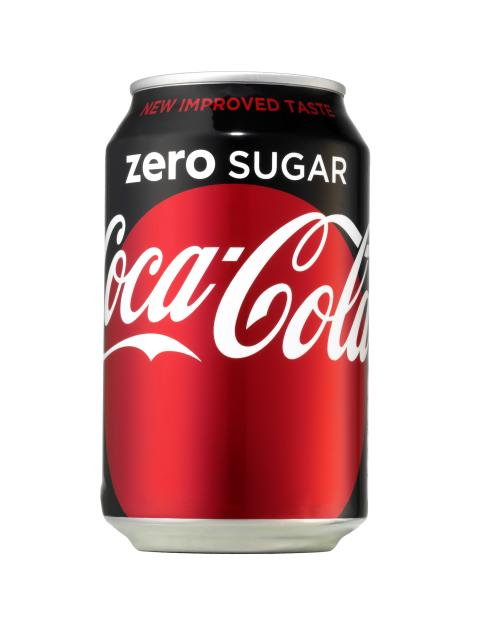 Coca-Cola zero sugar 330 ml burk
