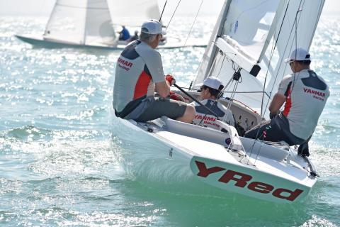 Hi-res image - YANMAR - YANMAR has revived its Dragon Class yacht racing team, YANMAR Racing
