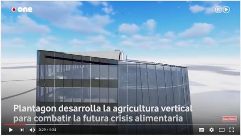 Plantagon featured in El Pais One