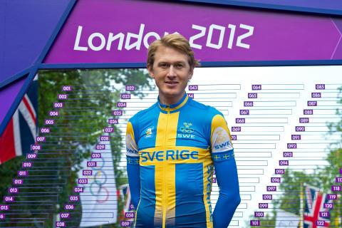 Goda tecken från Gustav på OS-linjet