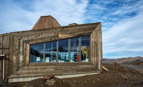 Arkitektonisk turistföreningshytte