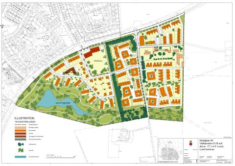 Illustrationskarta för Stångby söder