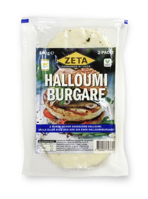 Halloumiburgare från Zeta