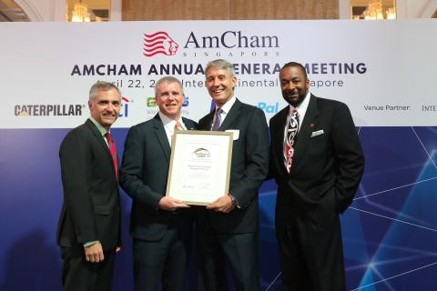 Kimberly-Clark wins AmCham award for excellence in corporate citizenship