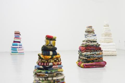 Petra Hultman_Arbete i textil, Mary Hultman (Blandade textilier)