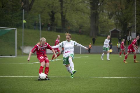 Mål på övertid när Hammarby besegrade Halmia