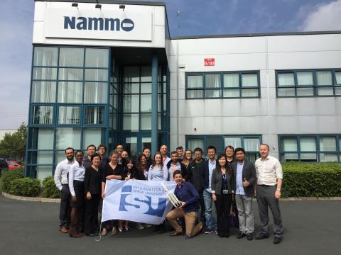 International Space University delegation visits Nammo ...