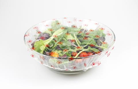 Matöverdragen håller maten fräsch