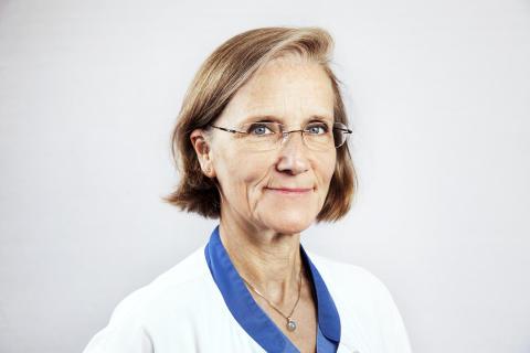 Lillemor Berntsson, överläkare i barnmedicin