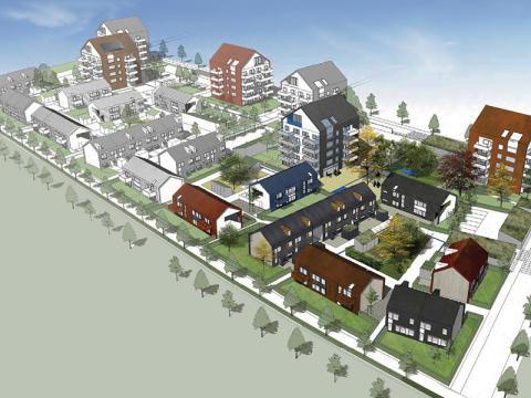 Järngrinden och Mjöbäcks Entreprenad väljer Wästbygg som entreprenör för fyra bostadsprojekt