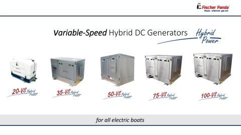 Information Sheet - Fischer Panda VS Series - variable speed hybrid DC generators