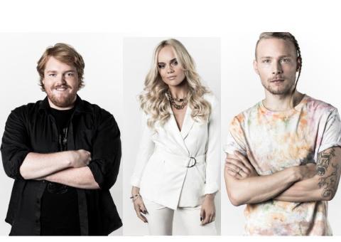 Idolfinalisterna till Nordstan lördag 12 december