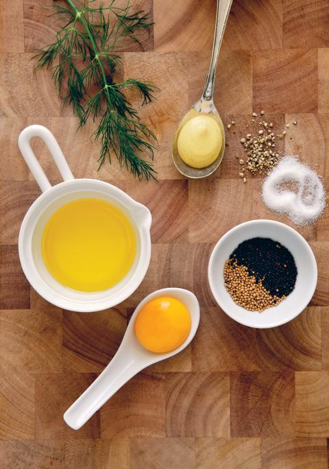 Miljöbild ingredienser färsk senap