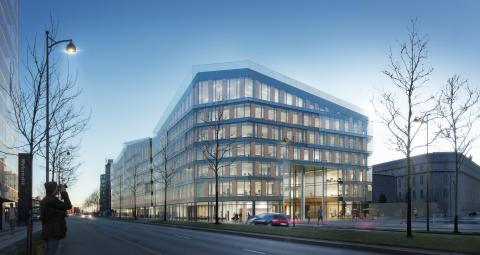 Scandic koncernen bygger hidtil største hotel i København.