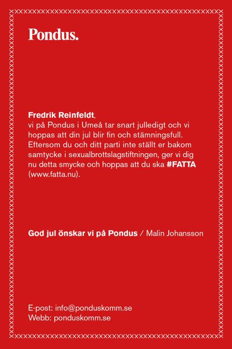 Pondus delar ut årets bästa klapp till Sveriges partiledare