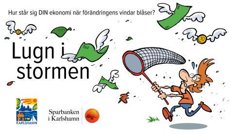 Pressinbjudan: Kommunen och Sparbanken i Karlshamn stresstestar invånares ekonomi