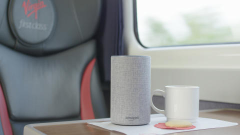 Virgin Trains Alexa East Coast