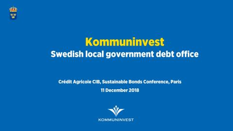 Kommuninvest Presentation CACIB conference