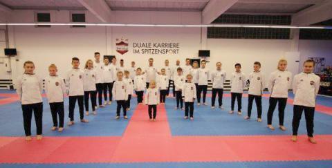 Taekwondo-team