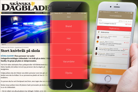 Kris- och säkerhetstouren 2019 -  22 oktober - Göteborg