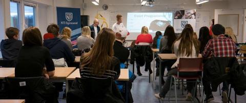 NTI-Gymnasiet i Eskilstuna siktar högt