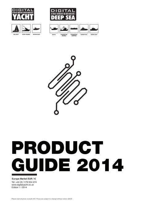 Digital Yacht 2014 EURO Price & Product Guide
