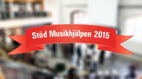 En 'Recycling Lunch' till förmån för Musikhjälpen 2015