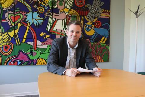 Mats Adolfsson, kommunikationschef