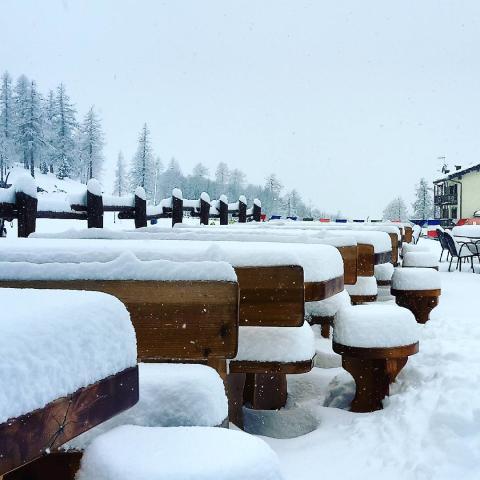 Snölarm: Här är orterna som redan har över en meter snö – och mycket mer är på gång