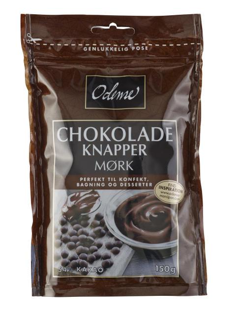 Mørke ODENSE Chokoladeknapper