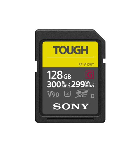 Sony présente la carte SD la plus solide et  la plus rapide au monde