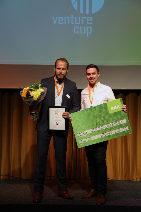 Vinnare i Webb, Mjukvara & Media - Qlutter