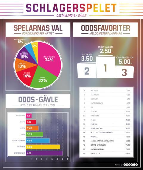 Meldoifestivalen deltävling 4 Gävle Infografik