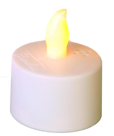 Värmeljus laddningsbara 24-pack - ett ljus
